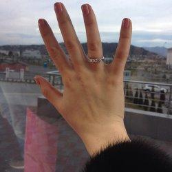 """Обручальное кольцо, которое подарил Тимур Дарье в финале проекта """"Холостяк"""""""